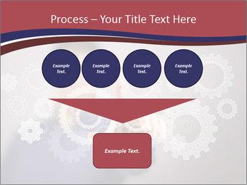 Colour wheels PowerPoint Template - Slide 93