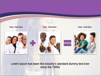 Black woman PowerPoint Template - Slide 22