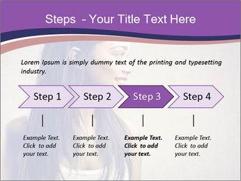 Black woman PowerPoint Template - Slide 4