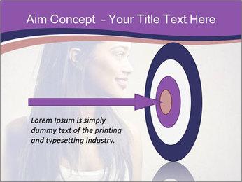 Black woman PowerPoint Template - Slide 83