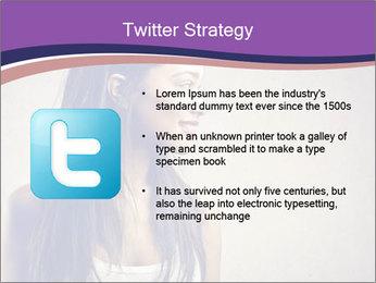 Black woman PowerPoint Template - Slide 9