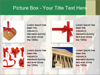 Christmas Wreaths PowerPoint Templates - Slide 14