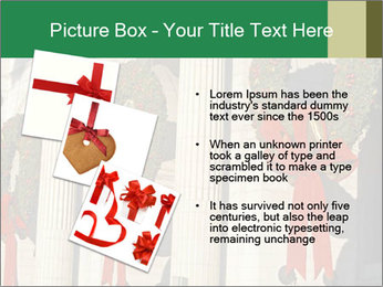 Christmas Wreaths PowerPoint Templates - Slide 17