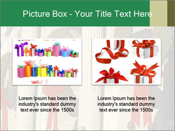 Christmas Wreaths PowerPoint Templates - Slide 18