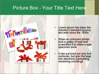 Christmas Wreaths PowerPoint Templates - Slide 20