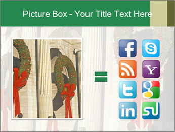 Christmas Wreaths PowerPoint Templates - Slide 21