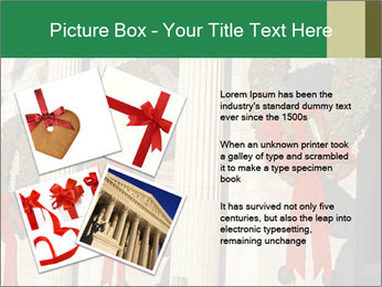 Christmas Wreaths PowerPoint Template - Slide 23