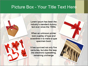 Christmas Wreaths PowerPoint Template - Slide 24