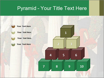 Christmas Wreaths PowerPoint Templates - Slide 31