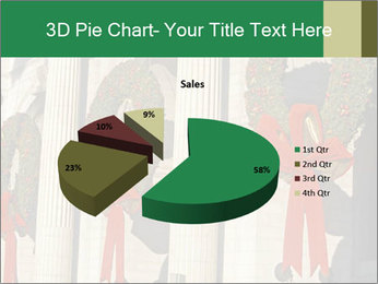 Christmas Wreaths PowerPoint Templates - Slide 35