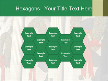 Christmas Wreaths PowerPoint Template - Slide 44