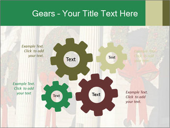 Christmas Wreaths PowerPoint Templates - Slide 47