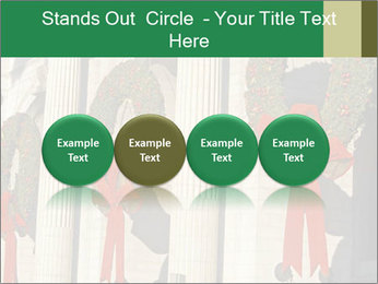 Christmas Wreaths PowerPoint Template - Slide 76