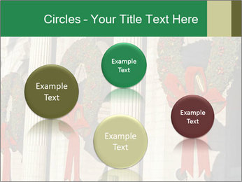 Christmas Wreaths PowerPoint Template - Slide 77