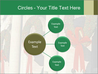 Christmas Wreaths PowerPoint Template - Slide 79