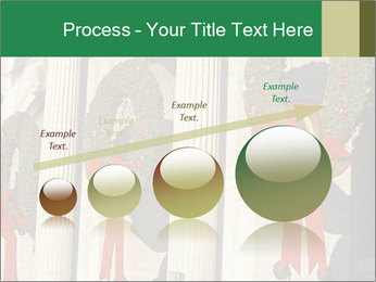 Christmas Wreaths PowerPoint Template - Slide 87