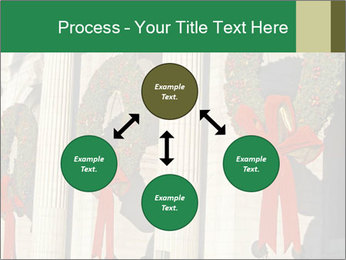 Christmas Wreaths PowerPoint Templates - Slide 91