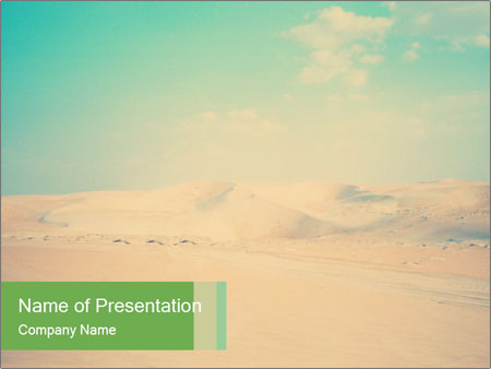 Desert PowerPoint Templates