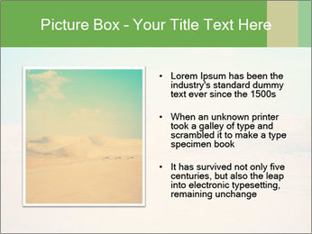 Desert PowerPoint Template - Slide 13