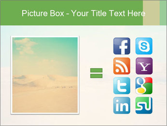 Desert PowerPoint Template - Slide 21