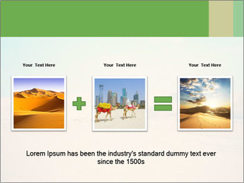 Desert PowerPoint Template - Slide 22