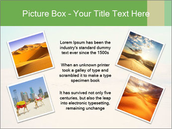 Desert PowerPoint Template - Slide 24
