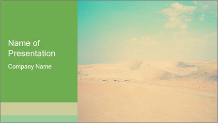 Desert PowerPoint Template