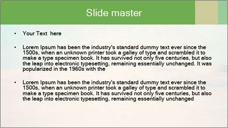 Desert PowerPoint Template - Slide 2