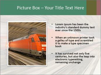 German train PowerPoint Template - Slide 13