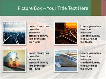 German train PowerPoint Template - Slide 14