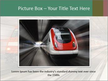 German train PowerPoint Template - Slide 15