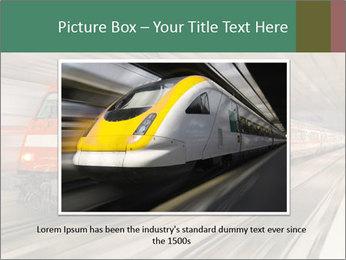 German train PowerPoint Template - Slide 16
