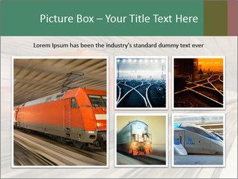 German train PowerPoint Template - Slide 19