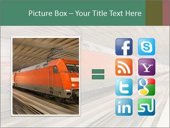 German train PowerPoint Template - Slide 21
