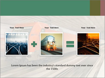 German train PowerPoint Template - Slide 22
