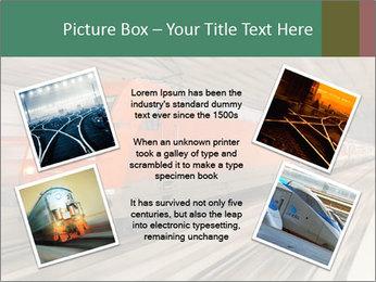 German train PowerPoint Template - Slide 24