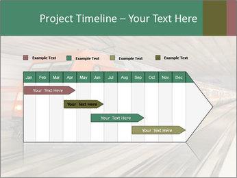 German train PowerPoint Template - Slide 25