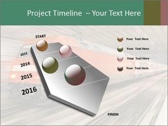 German train PowerPoint Template - Slide 26