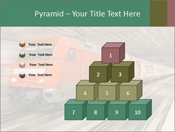 German train PowerPoint Template - Slide 31