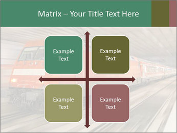 German train PowerPoint Template - Slide 37