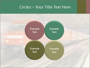 German train PowerPoint Template - Slide 38