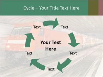 German train PowerPoint Template - Slide 62