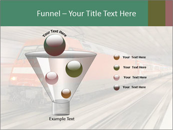 German train PowerPoint Template - Slide 63