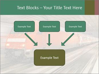 German train PowerPoint Template - Slide 70