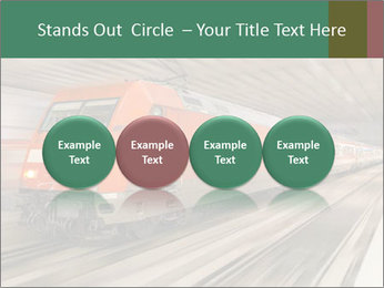 German train PowerPoint Template - Slide 76