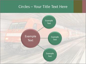 German train PowerPoint Template - Slide 79