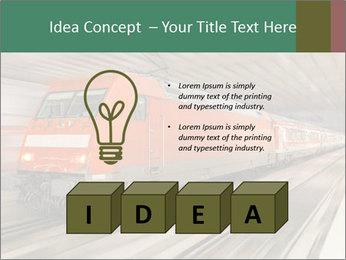 German train PowerPoint Template - Slide 80