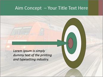 German train PowerPoint Template - Slide 83