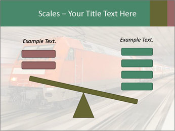 German train PowerPoint Template - Slide 89
