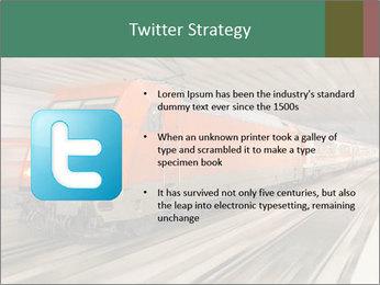 German train PowerPoint Template - Slide 9